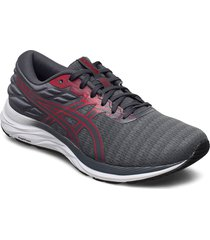 gel-excite 7 twist shoes sport shoes running shoes grå asics