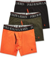 polo ralph lauren men's 3-pk. 4-d flex cool boxer briefs
