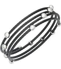 alor women's stainless steel coil bracelet