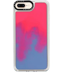 casetify neon sand iphone 7/8 & 7/8 plus case - pink