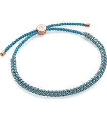 rose gold rio mini friendship bracelet