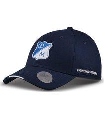 gorra oficial azul oscura millonarios otocaps fmic-002 azul oscura