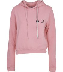 chiara ferragni flirting pink hoodie