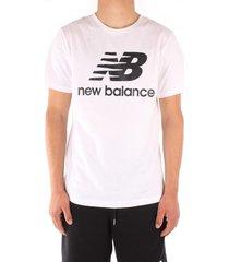 t-shirt korte mouw new balance mt01575wk