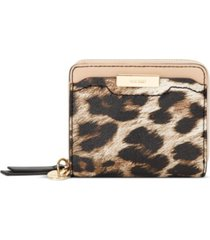 nine west kennedy small zip around wallet