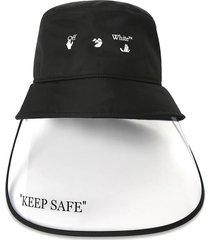 keep safe visor bucket hat