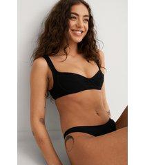mango bikiniöverdel - black