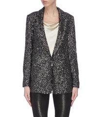 'jace' sequin embellished blazer