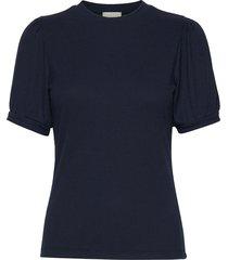 johanna tee t-shirts & tops short-sleeved svart minus