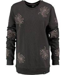 kultivate donkergrijze sweater