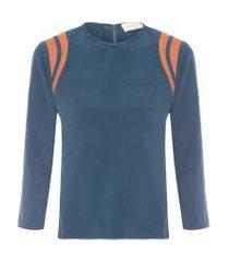 camiseta catalina - azul