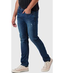 jeans lee 101 originales  azul - calce ajustado