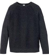 maglione sostenibile con cotone riciclato (grigio) - john baner jeanswear