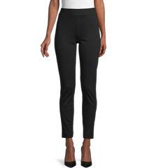 saks fifth avenue women's cigarette pants - black - size m