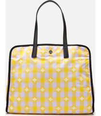 kate spade new york women's nicola bicolor extra large tote bag - multi