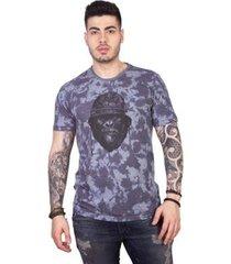 camiseta 4 ás manga curta gorila tie dye masculina
