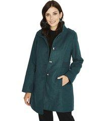 abrigo manga larga liso azul lorenzo di pontti