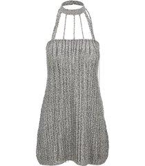 we11 done braided strap mini dress
