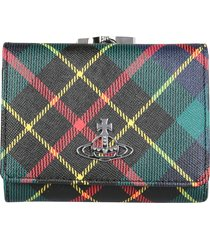 vivienne westwood small derby frame wallet