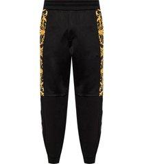 baroque motif sweatpants