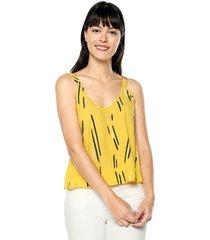 blusa amarilla womanpotsherd ref: luz