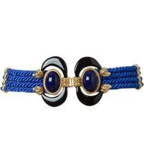 blue aries belt