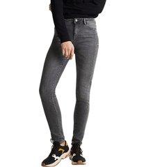 jeans skinny high rise gris esprit