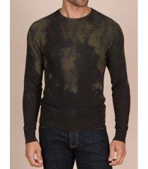 mills supply men's newton cashmere blend pullover sweater