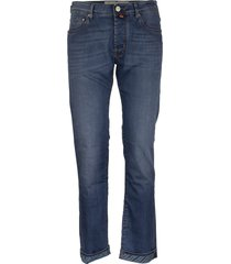 jacob cohen jeans five pockets trousers in cotton