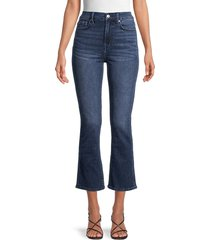 7 for all mankind women's high-rise slim bootcut jeans - sonoma - size 24 (0)