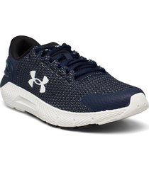 ua charged rogue 2.5 shoes sport shoes running shoes blå under armour