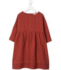 caramel wimbledon dress - red