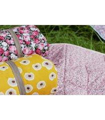 koc piknikowy żółty