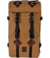 men's topo designs klettersack heritage backpack - brown