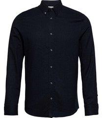 m. lewis flannel shirt overhemd casual blauw filippa k