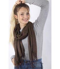 pashmina marrón spiga 31