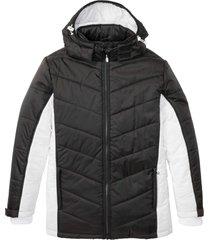 giacca invernale con cappuccio (nero) - bpc bonprix collection