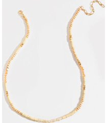 giada wooden beaded necklace - ivory