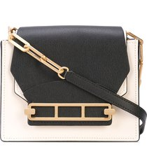 zac zac posen katie crossbody bag - white