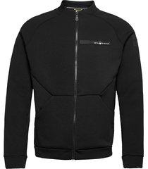race tech zip jacket sweat-shirt tröja svart sail racing