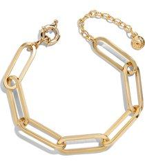 women's baublebar hera link bracelet