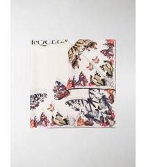 alexander mcqueen butterfly decay scarf