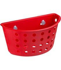 cesta com ventosas coza  one vermelha - vermelho - dafiti