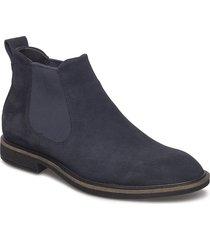 vitrus ii shoes chelsea boots blå ecco