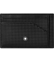 men's montblanc extreme 2.0 card case - black