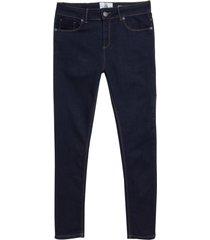 calça john john high skinny pergamo jeans preto feminina (dark jeans, 50)