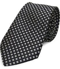 gravata concetto seda semi slim preto - preto - masculino - dafiti