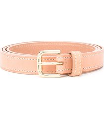 b-low the belt stitched belt - neutrals