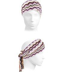missoni women's chevron scarf headband