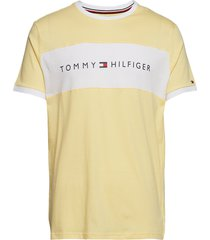cn ss tee logo flag t-shirts short-sleeved gul tommy hilfiger